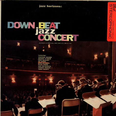 Jazz Horizons -  Manny Albam / Tony Scott / Don Elliot / Paul Horn - Down Beat Jazz Concert