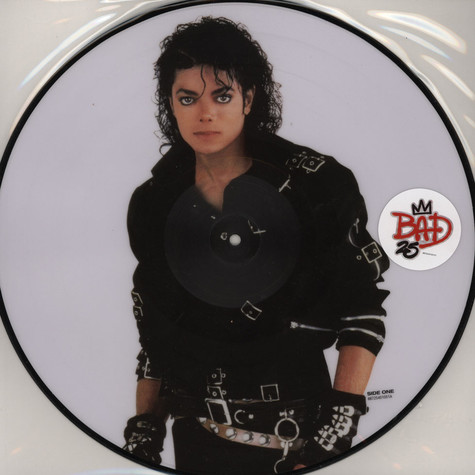 Michael Jackson - Bad: 25Th Anniversary Picture Disc