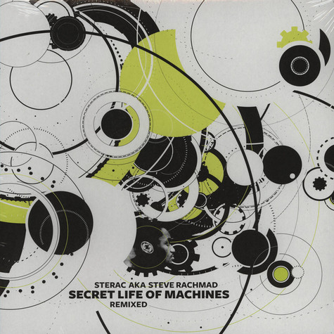 Sterac (Steve Rachmad) - Secret Life Of Machines Remixed