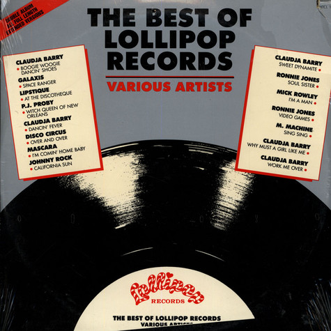 V.A. - The Best Of Lollipop Records