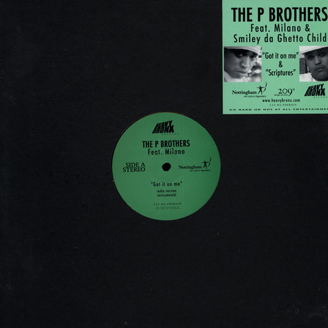 P Brothers - Got it on me feat. Milano