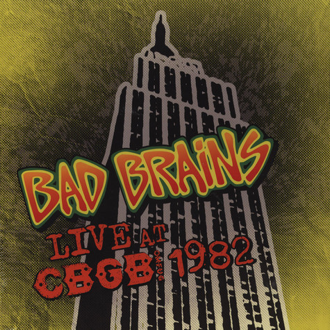 Bad Brains - Live At CBGB Color Vinyl