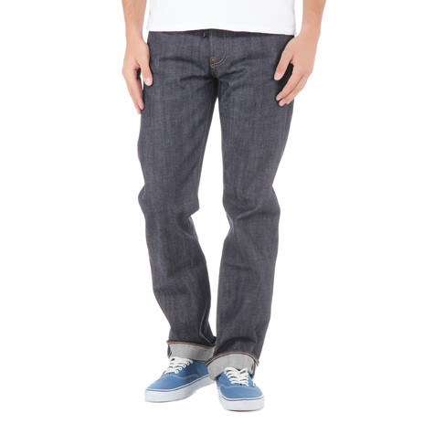 Edwin - ED-39 Regular Pants Red Listed Selvage Denim,14 oz
