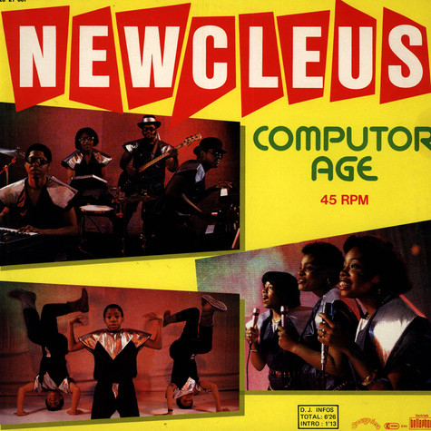 Newcleus - Computer age (push the button)