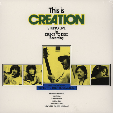 Creation - This Is Creation - Studio Live In Direct Disc Recording
