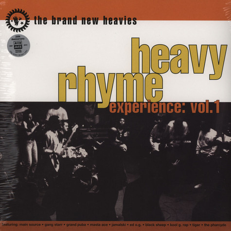 Brand New Heavies, The - Heavy Rhyme Experience Volume 1