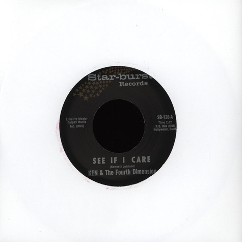 Ken & The 4Th Dimension - See If I Care