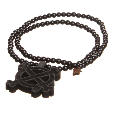 Good Wood x In4mation - Crossbones Necklace