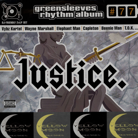 Greensleeves Rhythm Album #77 - Justice