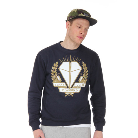 Benny Gold x Diamond Supply - BG X Diamond Crew Sweater