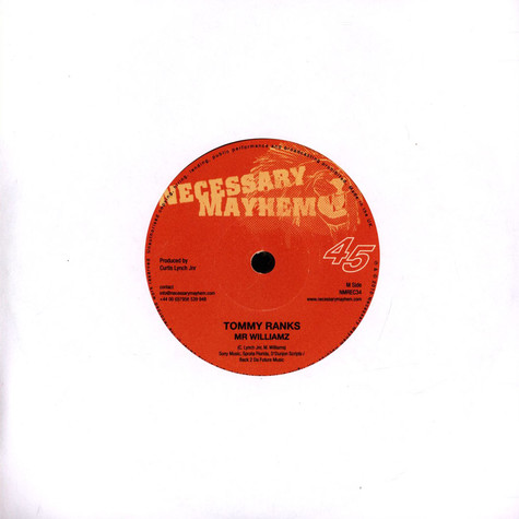 Kasi & Tippa Irie / Mr Williamz - Soon As I Get Home / Tommy Ranks