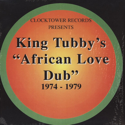 King Tubby - African Love Dub Colored Vinyl