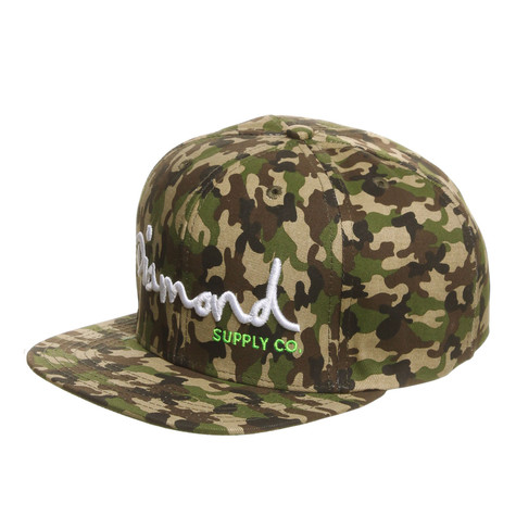 Diamond Supply Co. - OG Script 6-Panel Snapback Cap