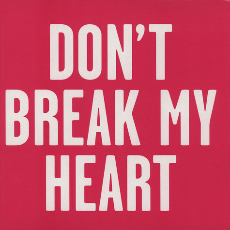 New Sins, The - Don't Break My Heart