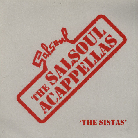 V.A. - The Salsoul acappellas - The Sistas