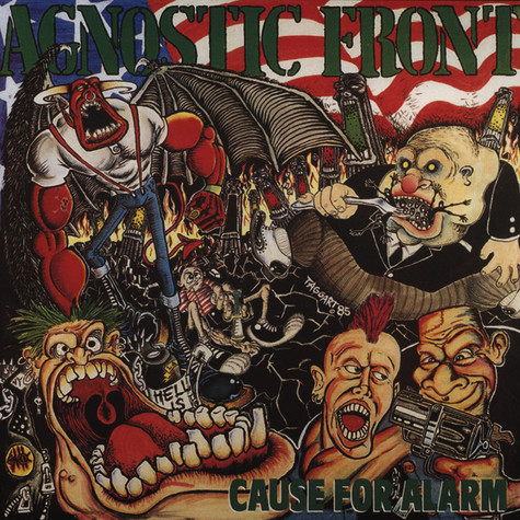 Agnostic Front - Cause For Alarm Olive Green Vinyl