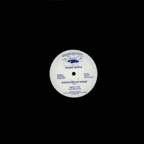 House People - Godfather Of House