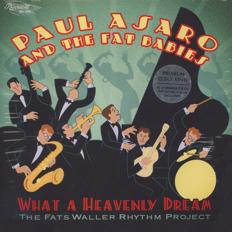 Paul Asaro - What A Heavenly Dream: Fats Waller Rhythm Project