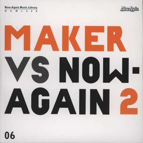 Maker - Maker Vs. Now Again Volume 2