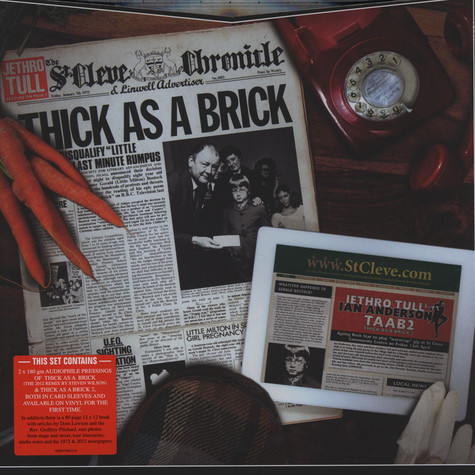 Jethro Tull - Thick As A Brick 40th Anniversary Edition