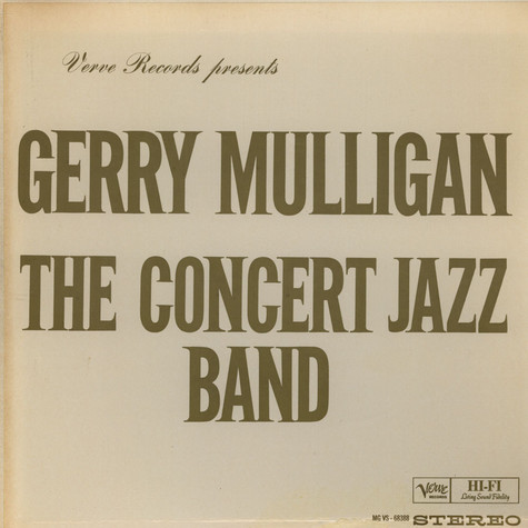 Gerry Mulligan - The Concert Big Band