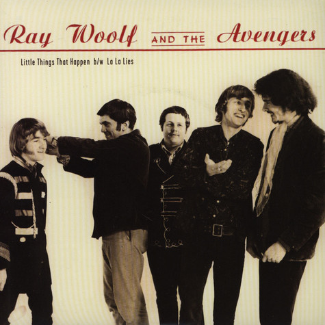 Ray Wolf & The Avengers - Little Things That Happen / La La Lies