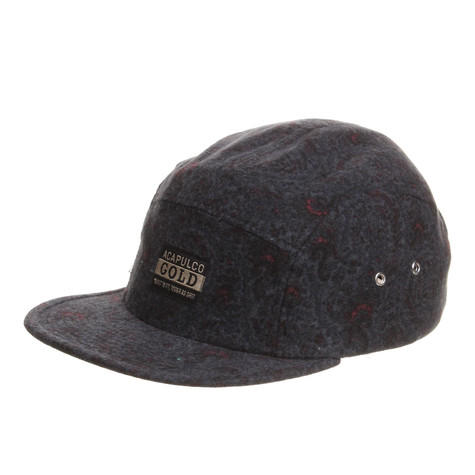 Acapulco Gold - Paisley Flannel Camp Cap