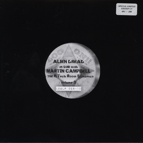 Alien Dread, Martin Cambell & Hi-Tech Roots Dynamics - Alien Dread In Dub Volume 3