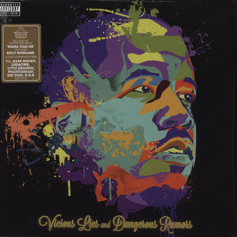 Big Boi of Outkast - Vicious Lies & Dangerous Rumors