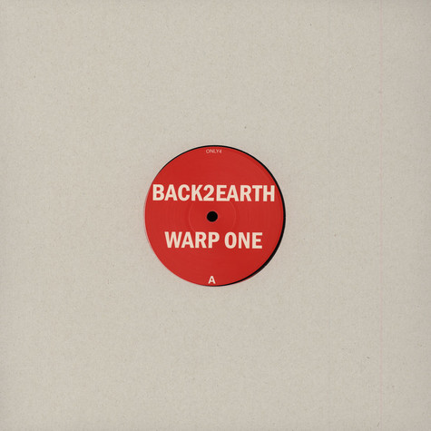 Back 2 Earth / Woolph (Phil Asher) - Warp One