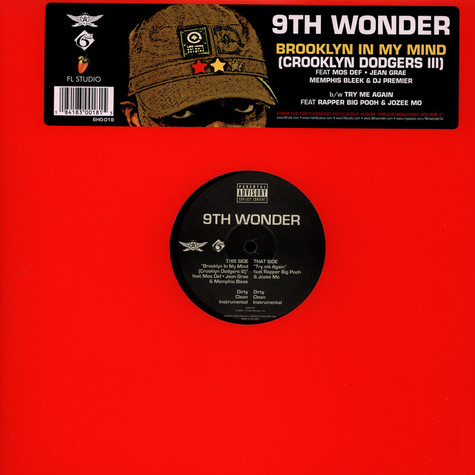 9th Wonder - Brooklyn In My Mind (Crooklyn Dodgers III)