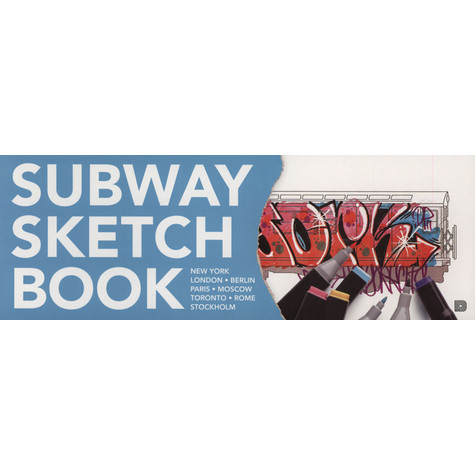 Martin Ande - Subway Sketchbook