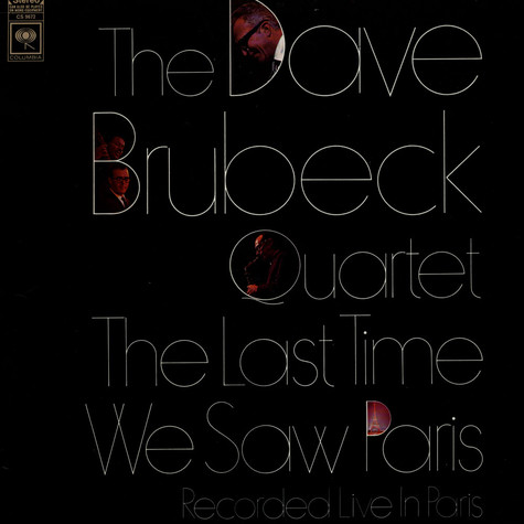 Dave Brubeck Quartet, The - The Last Time We Saw Paris