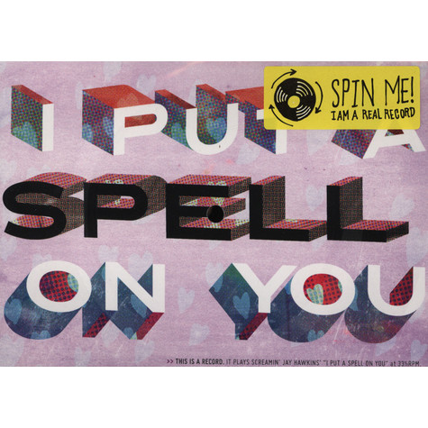Screamin' Jay Hawkins - I Put A Spell On You Vinyl Postcard