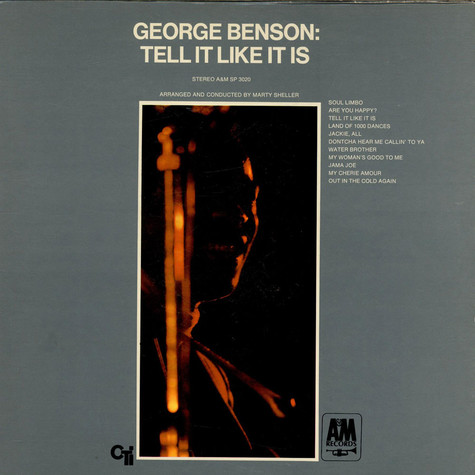 George Benson - Tell It Like It Is