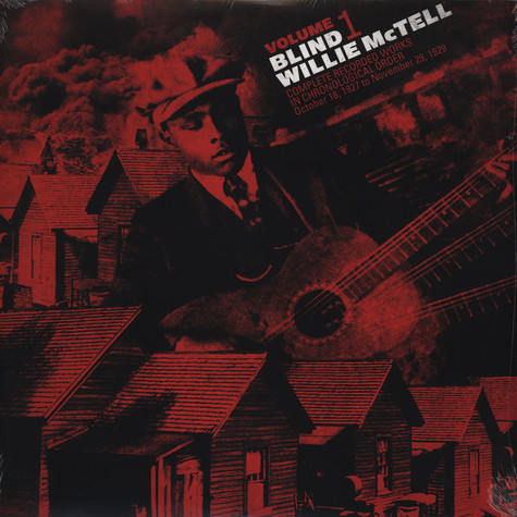 Blind Willie McTell - Complete Recorded Works in Chronological Order Volume 1