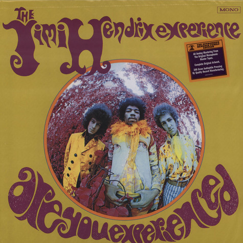 Jimi Hendrix Experience - Are You Experienced - Mono Version