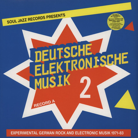 Deutsche Elektronische Musik - Volume 2 - Experimental German Rock and Electronic Music 1972-83 LP 1