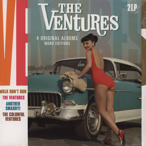 Ventures, The - 4 Original Albums - Mono Editions