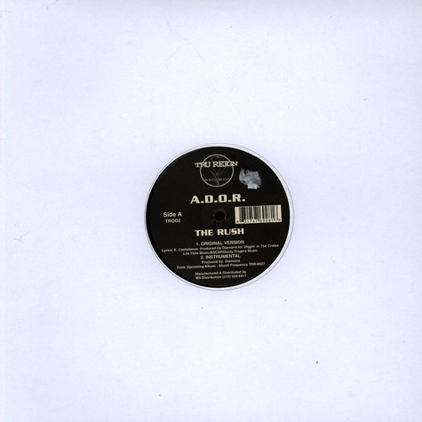Ador - The Rush / Ruthless Confrontation