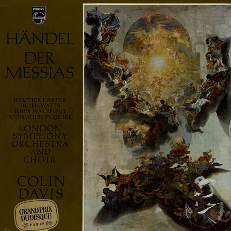 G.F. Händel / Colin Davis / London Symphony Orchestra And Choir - Der Messias