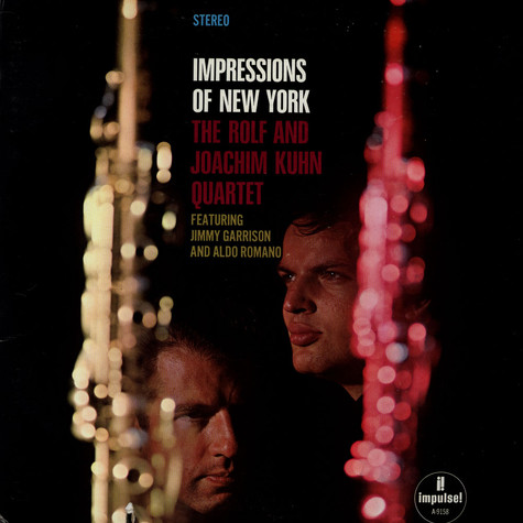 Rolf & Joachim Kuhn Quartet, The - Impressions Of New York