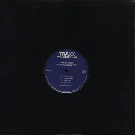 Mike Sharon - A Groove Livin' EP