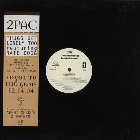 2Pac - Thugs Get Lonely Too
