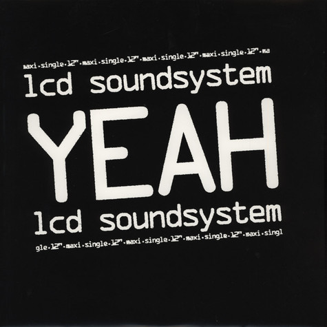 LCD Soundsystem - Yeah