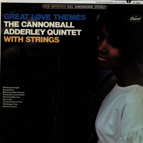 Cannonball Adderley Quintet, The - Great Love Themes