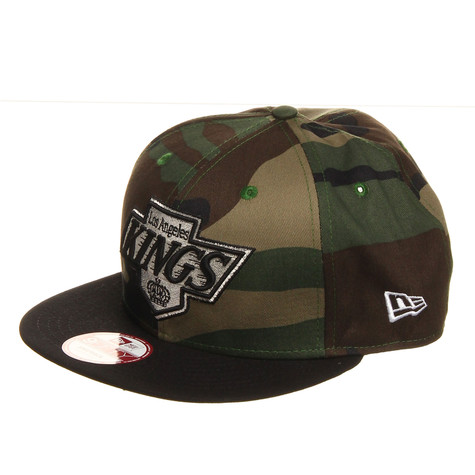 New Era - Los Angeles Kings NHL Camo Team Visor 9Fifty Snapback Cap