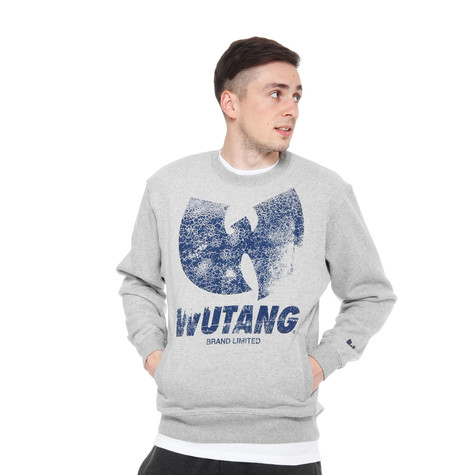 Wu-Tang Brand Limited - W Distressed Crewneck Sweater