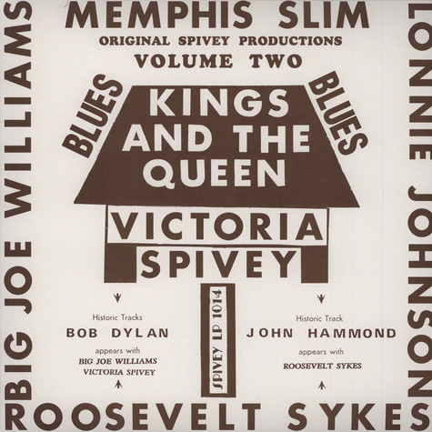 Victoria Spivey - Kings And The Queen