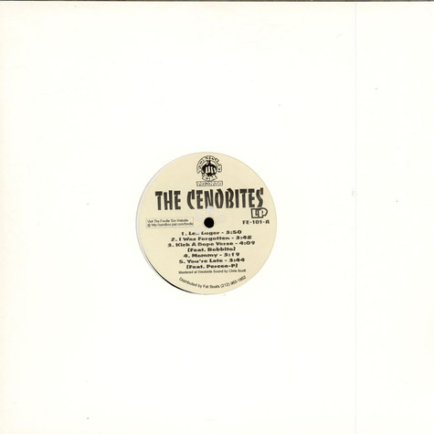 Cenobites, The (Kool Keith & Godfather Don) - The Cenobites LP
